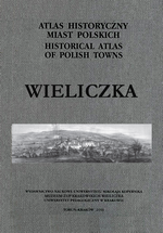 Wieliczka. Atlas historyczny miast polskich, t. V: Małopolska, z. 3 - okładka