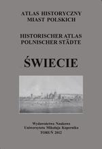 Świecie. Atlas historyczny miast polskich, t. I: Prusy Królewski i Warmia, z. 6 - okładka