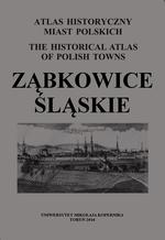 Ząbkowice Śląskie. Atlas historyczny miast polskich, t. IV: Śląsk, z. 17 - okładka