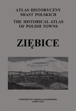 Ziębice. Atlas historyczny miast polskich, t. IV: Śląsk, z. 16 - okładka