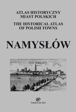 Namysłów. Atlas historyczny miast polskich, t. IV: Śląsk, z. 11 - okładka