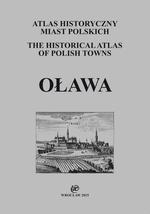 Oława. Atlas historyczny miast polskich, t. IV: Śląsk, z. 12 - okładka
