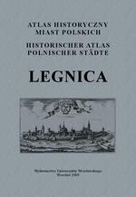 Legnica. Atlas historyczny miast polskich, t. IV: Śląsk, z. 9 - okładka