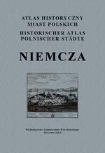 Niemcza. Atlas historyczny miast polskich, t. IV: Śląsk, z. 4 - okładka