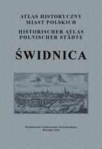 Świdnica. Atlas historyczny miast polskich, t. IV: Śląsk, z. 5 - okładka