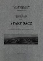 Stary Sącz. Atlas historyczny miast polskich, t. V: Małopolska, z. 8 - okładka